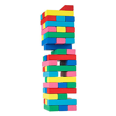 Hey! Play! Wooden Blocks Stacking Game
