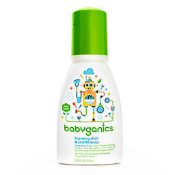 Babyganics® 3.38 oz. Fragrance-Free Foaming Dish & Bottle Soap