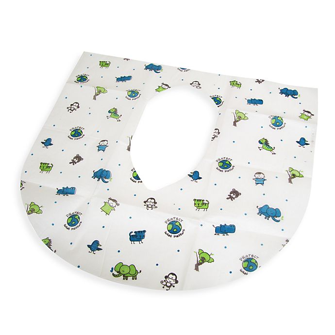 Alternate image 1 for Summer Infant® 20-Pack Clean and Green Disposable Potty Protectors