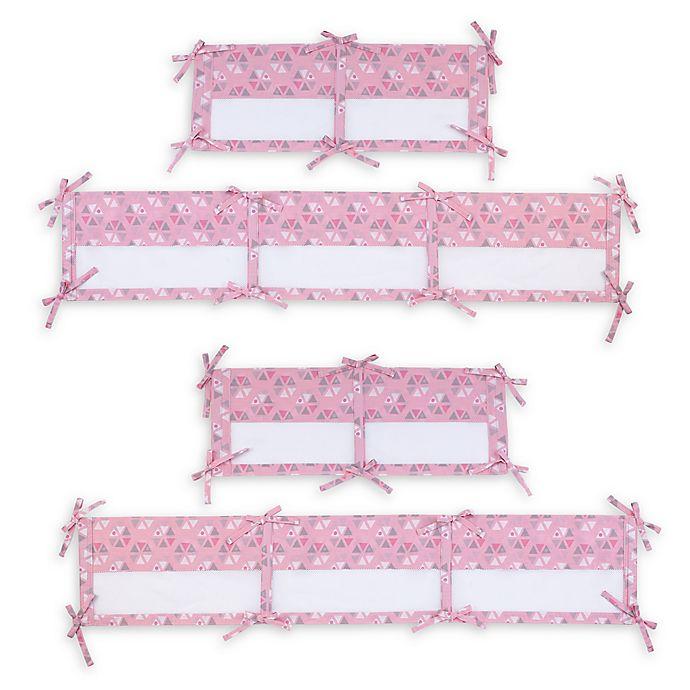 Pink Little Love by NoJo Giraffe Time 4 Piece Bedding Set