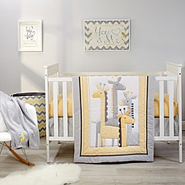 Little Love by NoJo® Giraffe Time Crib Bedding Collection in Yellow