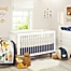 Part of the Little Love by NoJo® Aztec Crib Bedding Collection