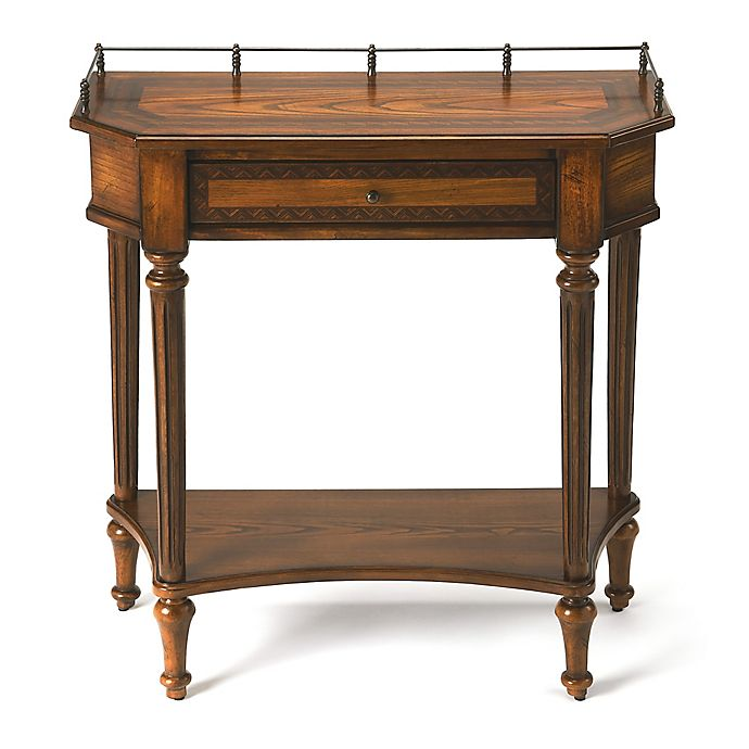 Alternate image 1 for Butler Specialty Company Charleston Console Table in Medium Brown