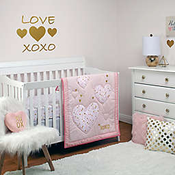 Little Love by NoJo® She's So Lovely 4-Piece Crib Bedding Set in Pink