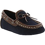 Kenneth Cole Size 0-3M Moccasin in Navy