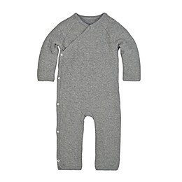 Burt's Bees Baby® Preemie Quilted Bee Coverall in Grey