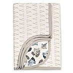 Gerber® Organic Cotton Knit Teepee Fox Reversible Blanket in Grey/Ivory