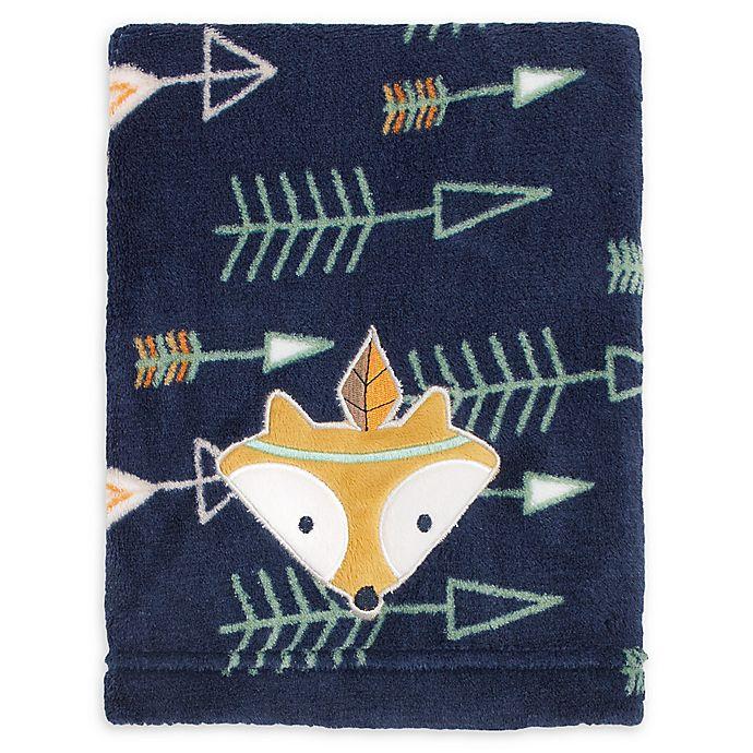 Alternate image 1 for Little Love by NoJo® Aztec Fleece Blanket