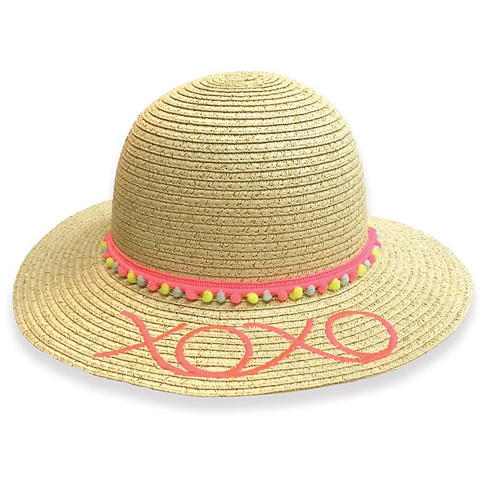 Alternate image 1 for Toby™ XOXO Embroidered Floppy Hat