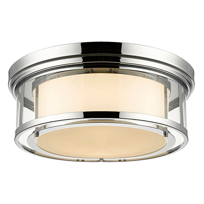Alternate image 1 for Filament Design Leia Coastal 4-Light Mounted Ceiling Light in Chrome