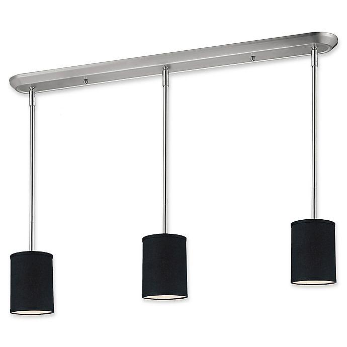 Alternate image 1 for Filament Design Albi Linear 3-Light Pendant in Black