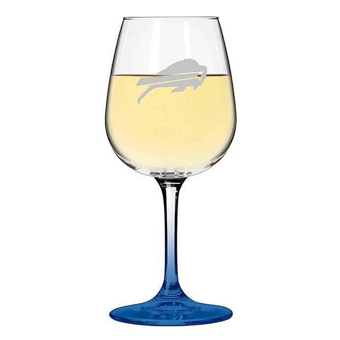 Nfl Buffalo Bills Satin Etched Wine Glasses Set Of 2