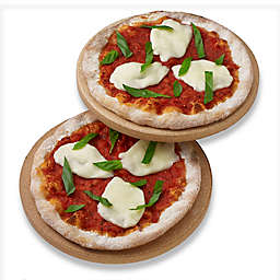 Honey-Can-Do® 8.5-Inch Round Pizza Stone (Set of 2)