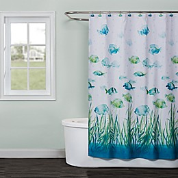 Saturday Knight Atlantis Shower Curtain Collection