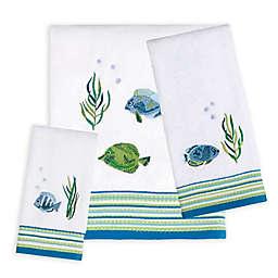 Saturday Knight Atlantis Bath Towel Collection in White