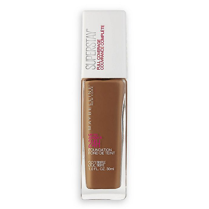 Alternate image 1 for Maybelline® Superstay® 1 fl. oz. Full Coverage Foundation in Truffle