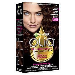 Garnier® Olia® Brilliant Color Permanent Color in 4.35 Dark Golden Mahogany