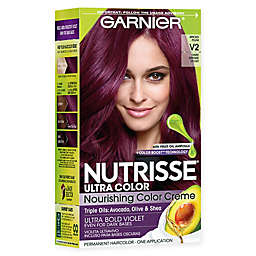 Garnier® Nutrisse Ultra Color Nourishing Color Creme in V2 Dark Intense Violet
