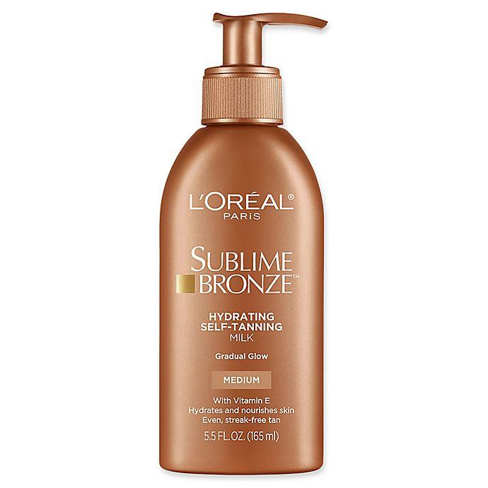Alternate image 1 for L'Oréal® Paris Sublime Bronze™ Hydrating Self-Tanning Milk in Medium