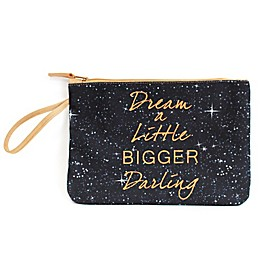 "Morgan Home ""Dream a Little Bigger Darling"" Water-Resistant Canvas Swimsuit Sack"