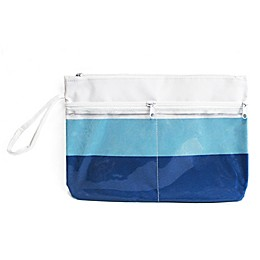 Morgan Home Summer Stripe Water-Resistant Swimsuit Sack in Blue