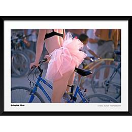 Ballerina Biker Wall Art