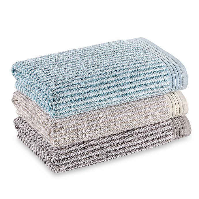 Alternate image 1 for The Royal Company Fashion Value Roma Ombre Bath Towel Collection