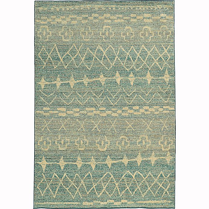 Alternate image 1 for Oriental Weavers Nomad 7'10 x 10'10 Area Rug in Blue