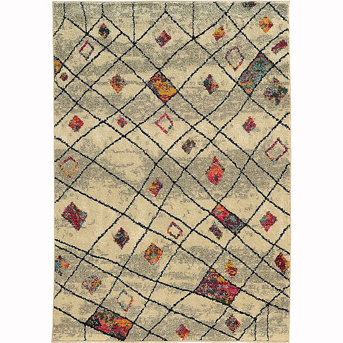 Alternate image 1 for Oriental Weavers Nomad Woven 7'10 x 10'10 Area Rug in Beige