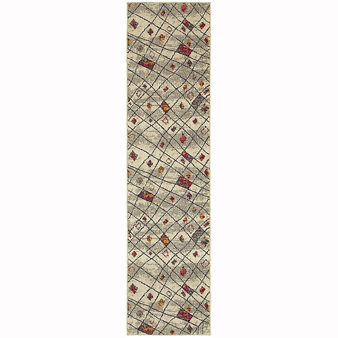 Alternate image 1 for Oriental Weavers Nomad Woven 2'7 x 10' Area Rug in Beige