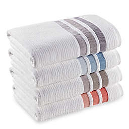 The Royal Company Fashion Value Crinkle Cord Bath Towel Collection