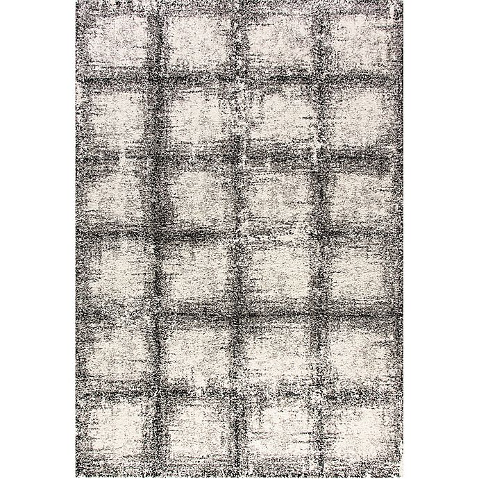 Alternate image 1 for Dynamic Rugs Mehari Urban Glass 5'3 x 7'7 Area Rug in Black/White