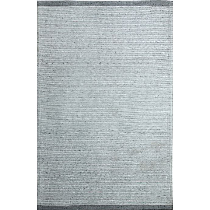 Alternate image 1 for Dynamic Rugs Summit Aldrich Flat-Weave 2' x 4' Area Rug in Silver/Grey
