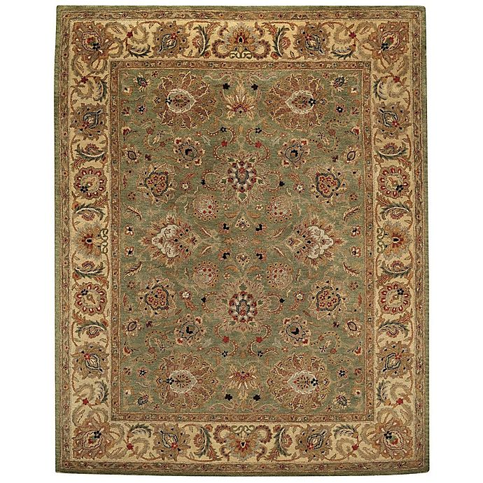Alternate image 1 for Capel Rugs Monticello Agra 4' x 6' Hand Tufted Area Rug in Pistachio Green