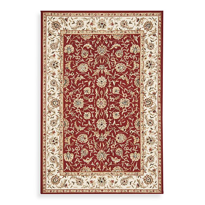 Alternate image 1 for Safavieh Chelsea Collection Wool Rugs in Burgundy