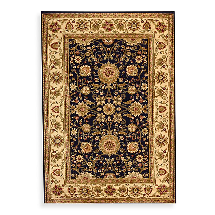 Alternate image 1 for Safavieh Lyndhurst 6-Foot x 9-Foot Rug in Black and Ivory