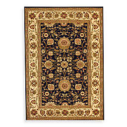 Safavieh Lyndhurst 8' x 11' Rug in Black and Ivory