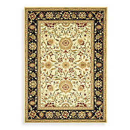 Safavieh Lyndhurst Traditional Rugs in Ivory/Black