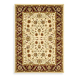 Safavieh Lyndhurst Collection Floral Rugs in Ivory/Red