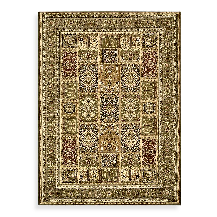 Alternate image 1 for Safavieh Lyndhurst Collection Patchwork Rugs in Green