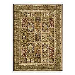 Safavieh Lyndhurst Collection 2-Foot 3-Inch x 12-Foot Patchwork Runner in Green