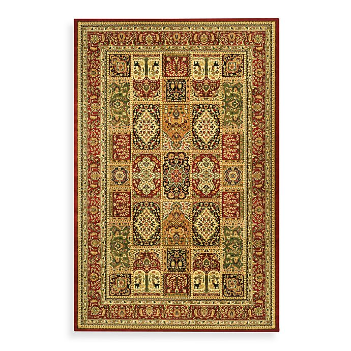 Alternate image 1 for Safavieh Lyndhurst Collection Patchwork Rugs in Red