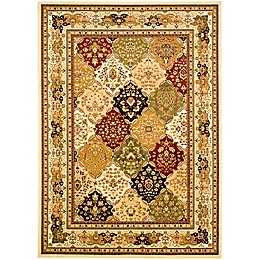 Safavieh Lyndhurst Diamond Patchwork Rugs in Ivory/Multi