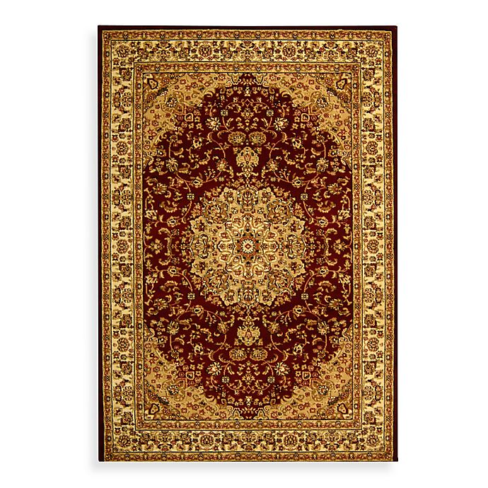 Alternate image 1 for Safavieh Lyndhurst Medallion 2'3 x 16' Runner in Red/Ivory