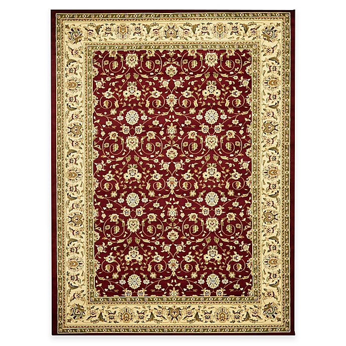 Alternate image 1 for Safavieh Lyndhurst Red and Ivory Scrolling Pattern Rugs