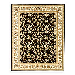 Safavieh Lyndhurst Black Scroll Pattern Rug