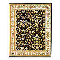 Safavieh Lyndhurst Black Scroll Pattern 2' 3