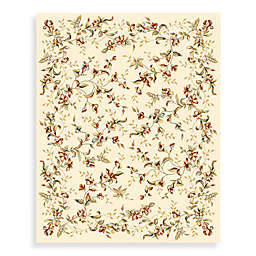 Safavieh Lyndhurst 2-Foot 3-Inch x 12-Foot Romantic Runner in Ivory