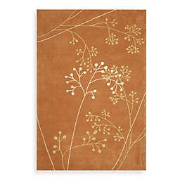 Safavieh Soho 8' x 10' Botanical Wool Area Rug in Rust