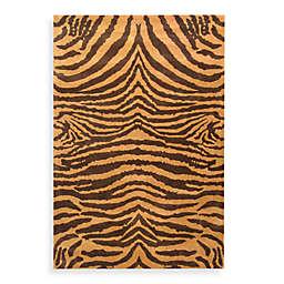 Safavieh Soho Wool Rugs in Brown/Gold